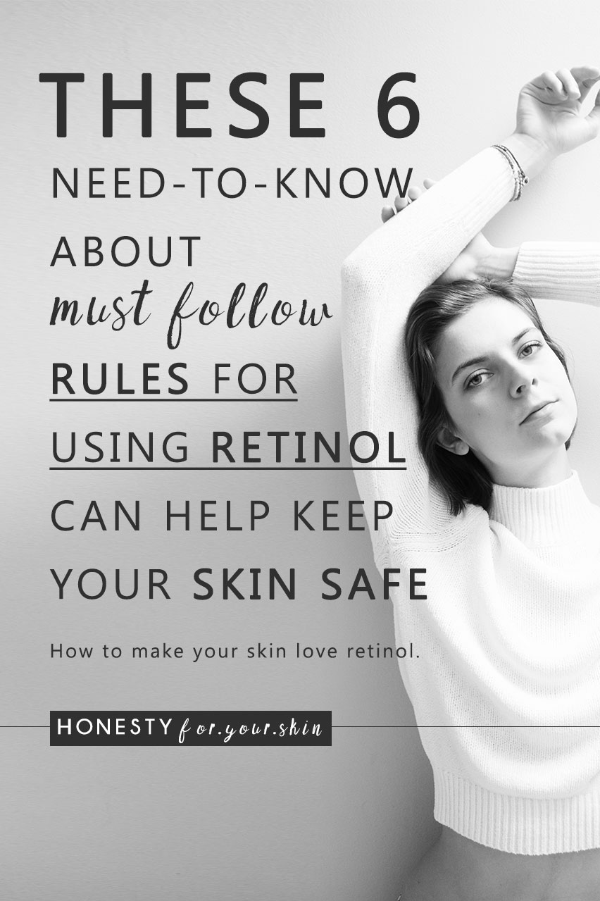 Today we're laying down must know rules for using retinol including answers to your commonly asked questions; How to use retinol? When to apply retinol in my skincare routine? What age to use retinol?