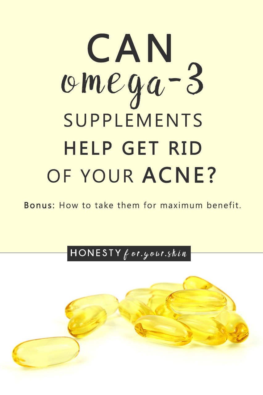 Is Omega 3 Good For Acne Can A Daily Supplement Improve Your Acne