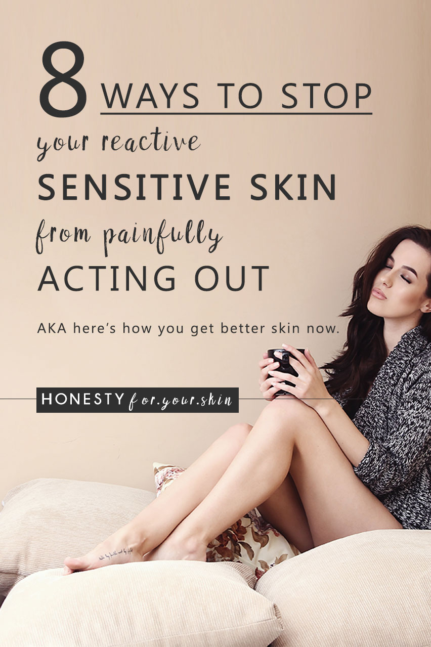 How to stop sensitive skin aka the answers to how you do take care of sensitive skin? How do you fix dry sensitive skin and what can i use for sensitive skin? Aka best skincare products for sensitive skin. Here's everything you need to know.