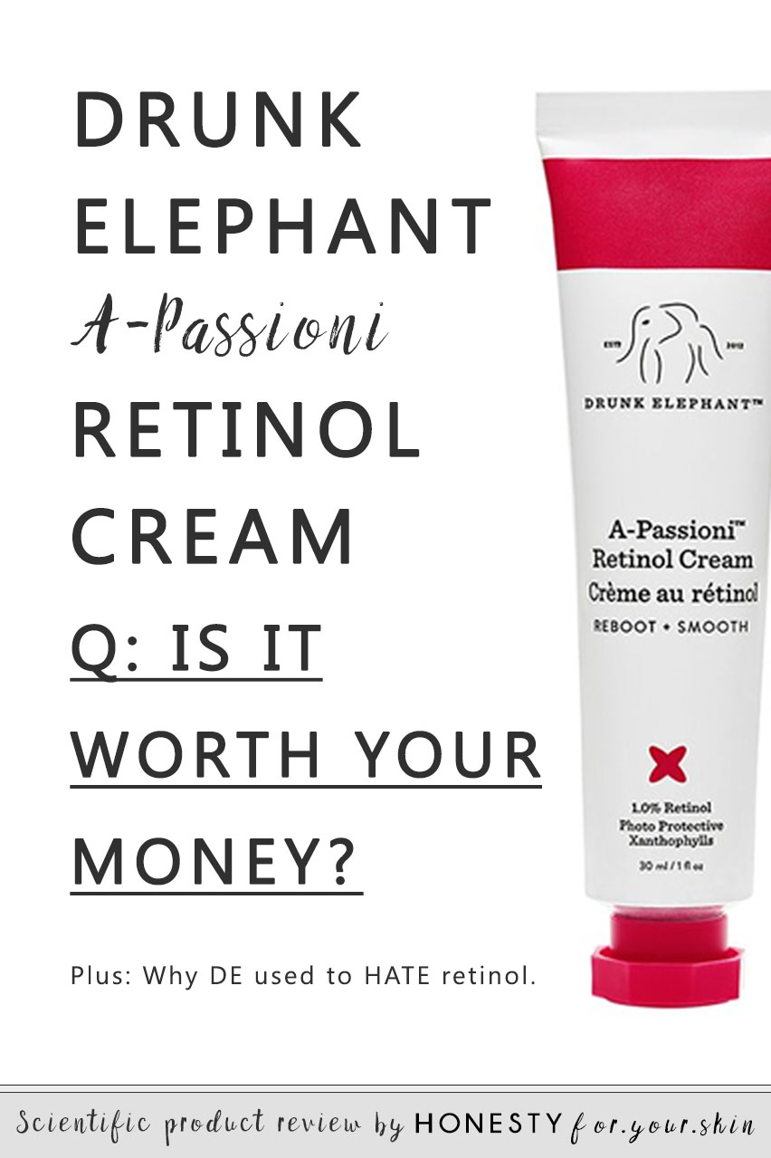 Which brings questions. Is Drunk Elephants retinol cream the real deal? Is Drunk Elephants retinol safe to use? Is Drunk Elephants retinol really #aLoverNotAFighter? Can it be used if other retinol creams gave you breakouts or redness? How can a skincare brand claim an ingredient is toxic then decide its fantastic? Find out all in today's Drunk Elephant retinol review. You've got questions. I've got answers...