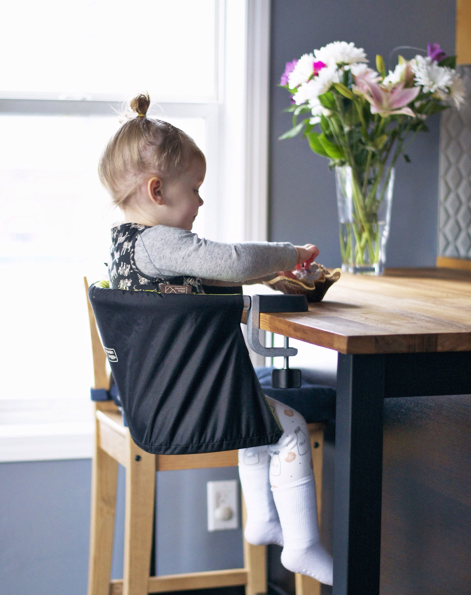 Mountain Buggy Pod High Chair Review Great For Condos