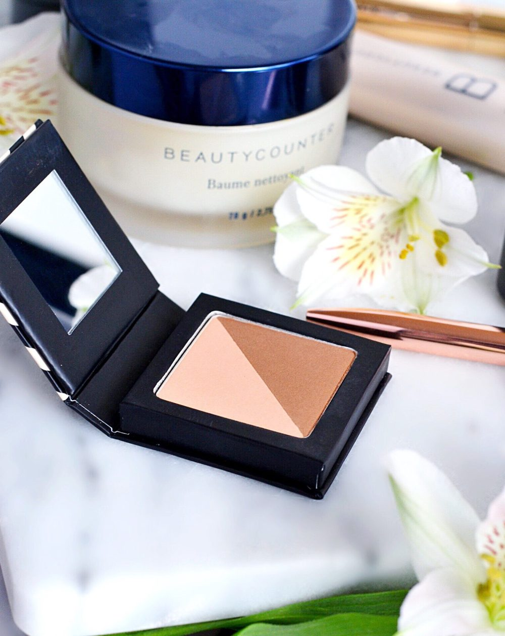 Eye Shadow Duo Peach and Bronze