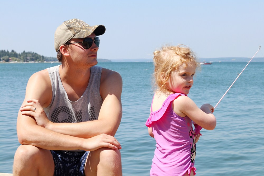 Edmonton blogger family travels to Sylvan Lake during Summer