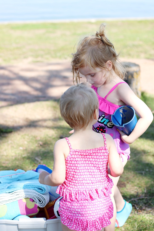 Edmonton blogger family travels to Sylvan Lake during Summer