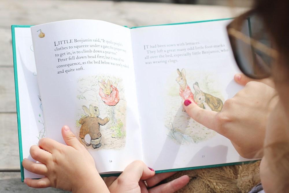 Reading Benjamin Bunny By Beatrix Potter