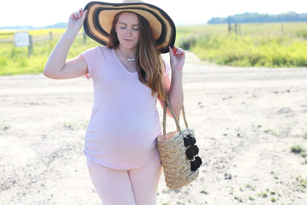 40 weeks pregnant Edmonton Alberta blogger