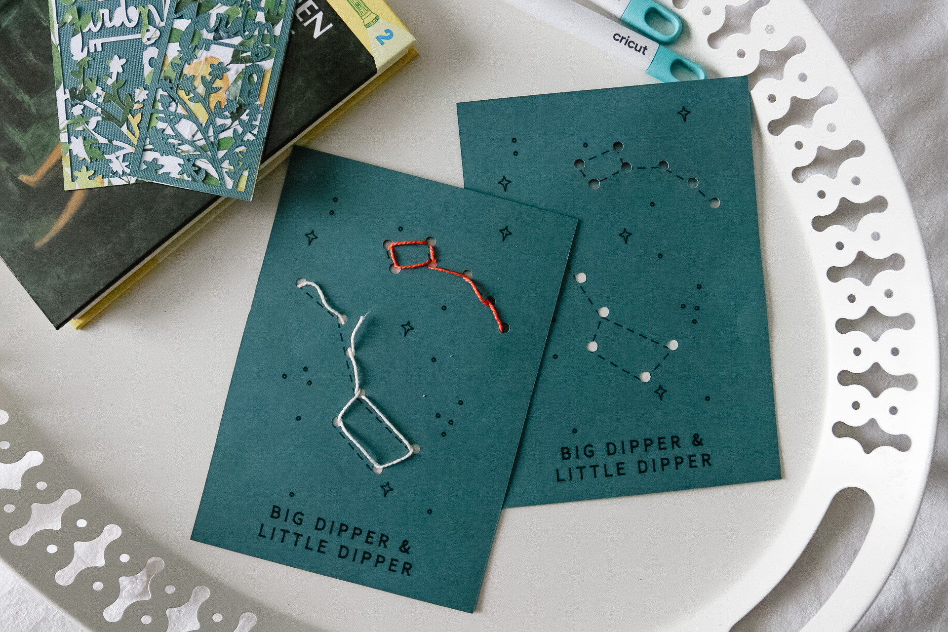 Hannah, from the popular Canadian lifestyle blog Honey & Betts, shares the best Cricut Joy projects for kids to do at home during social distancing. From constellation activities to elegant bookmarks.
