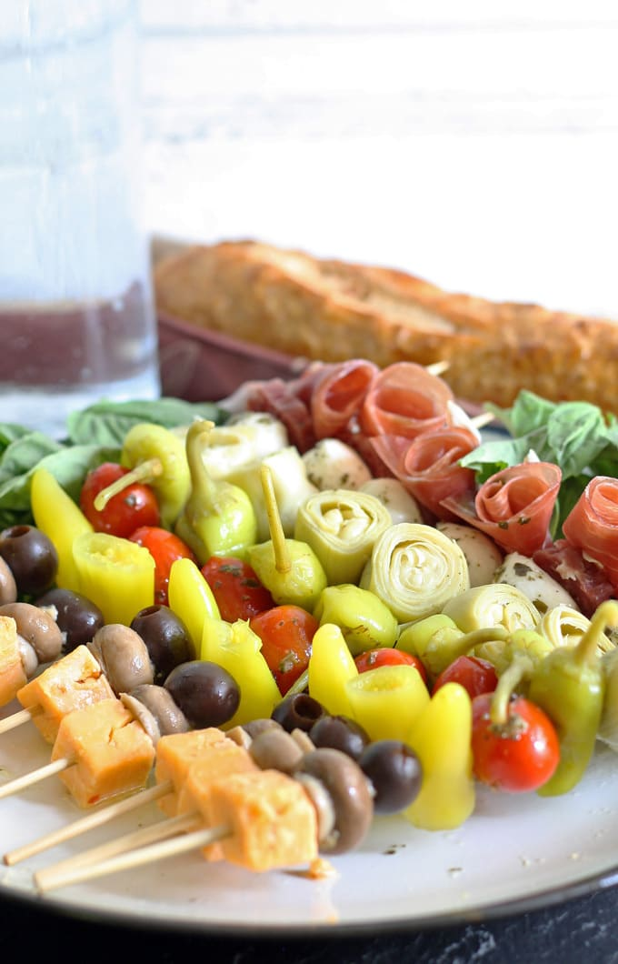 Appetizer Italian Antipasto Stick