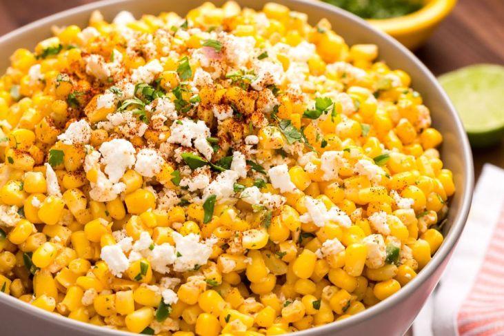 corn dip for fiesta