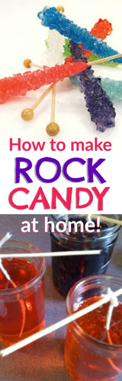Learn how to make your own rock candy at home. This is such a fun science experiment to learn about the crystallization process - and so much fun to eat!