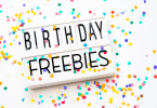 Awesome birthday freebies