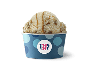 Baskin Robbins free birthday scoop