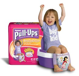 pull ups potty training your toddler