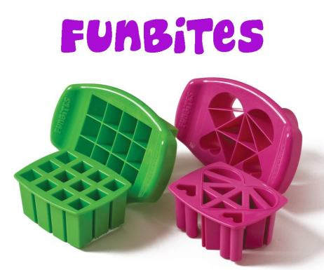 FunBites food shape cutters