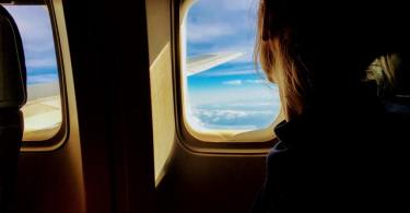 Airplane window seat flight air travel tips