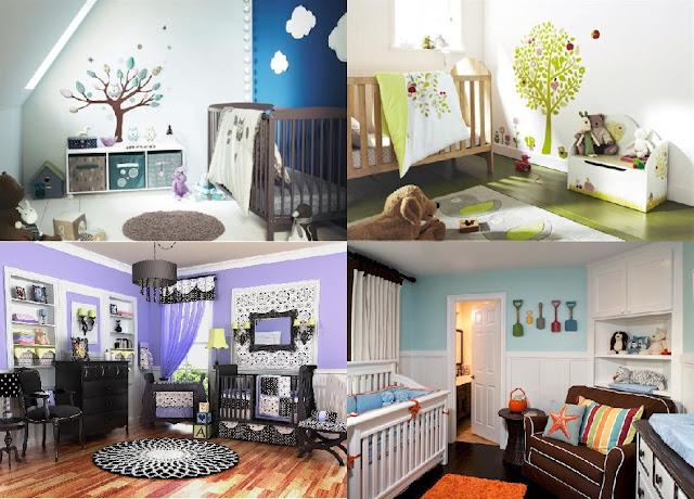 baby room nursery decorating ideas themes unique