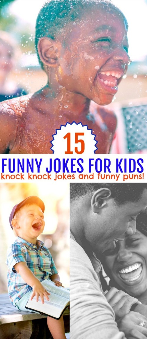 15 Funny Jokes for Kids- Knock Knock and More Silly Puns for Laughs | butt jokes for kids | a list of knock knock jokes | best funny jokes for kids | fun family friendly jokes | fun jokes for kids | funny jokes for kids | honeyandlime.co