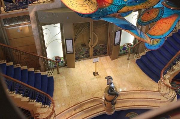 Disney Wonder Atrium