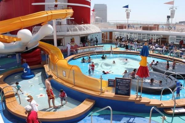 Disney Wonder Kids Mickey Pool with Waterslide