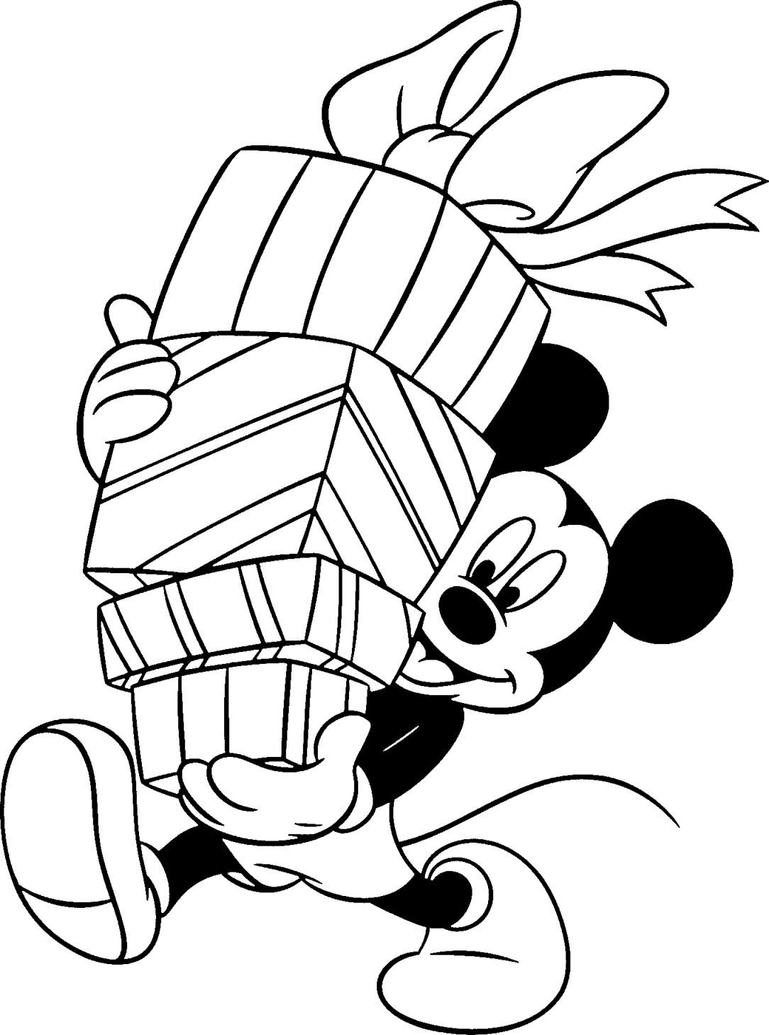 Free Disney Christmas Printable Coloring Pages for Kids ... | christmas coloring pages  book