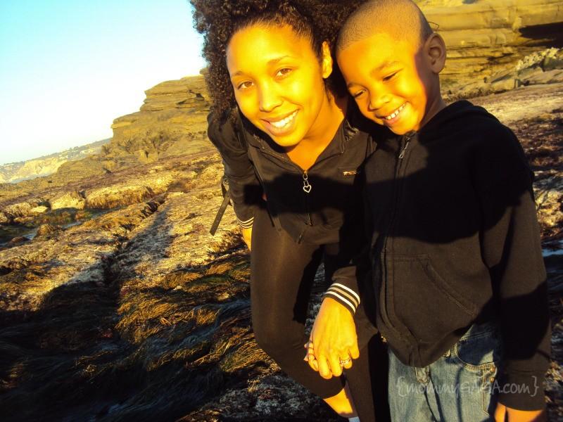 Deanna and MJ, La Jolla Tide Pools