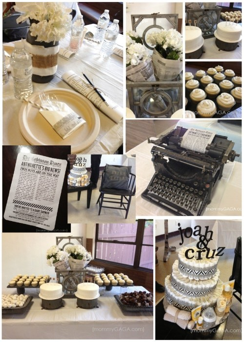 Newsstand Unique Baby Shower Themes for boys