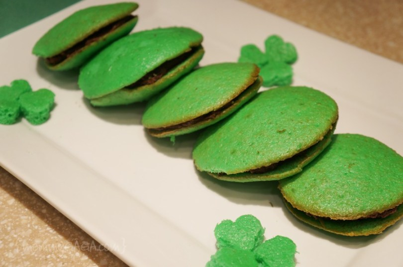 St Patrick's Day Green Whoopie Pies recipe