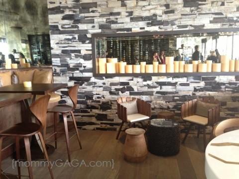 Hotel La Jolla in San Diego - The bar area at CUSP, Hotel La Jolla restaurant