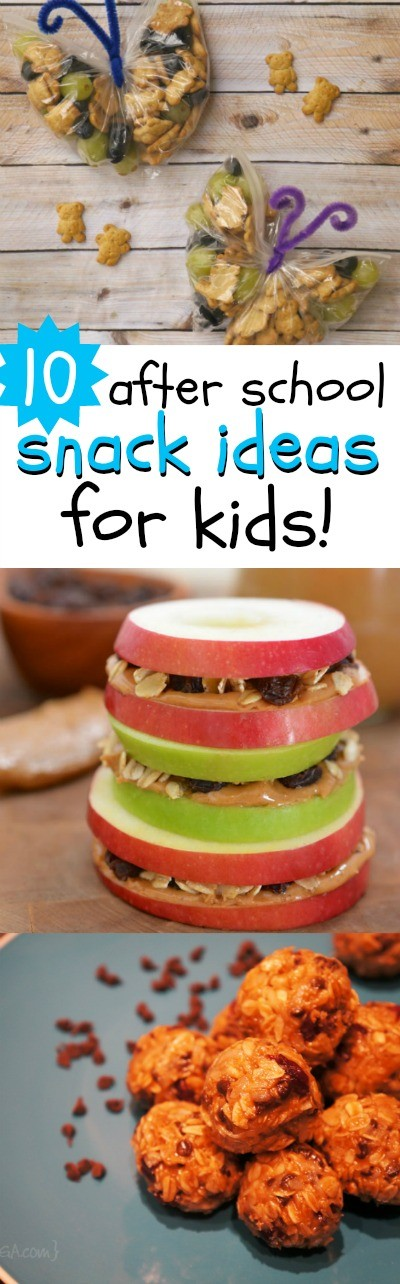 The kids are headed back to school, and they are so hungry when they get home! Try these 10 of the best after school snack ideas for kids - they really love these!