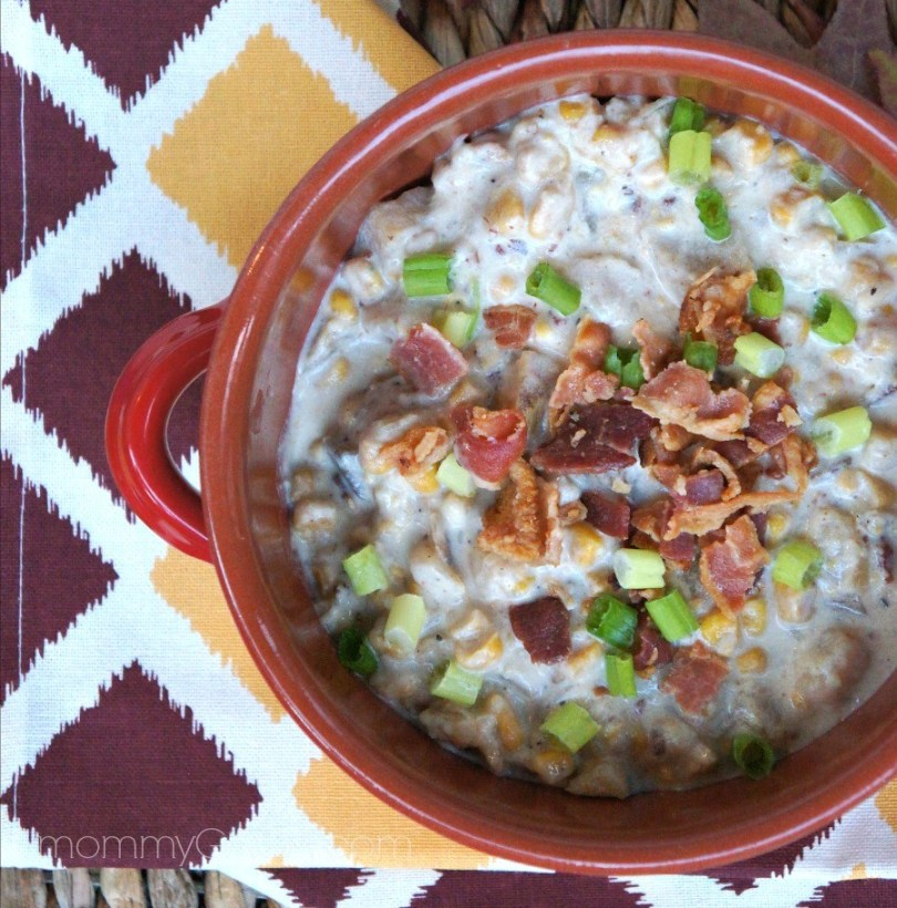 Easy Bacon and Corn Chowder Soup Recipe