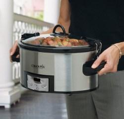 Crock Pot 6 qt. programmable slow cooker