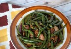 Green beans and bacon Thanksgiving Side Dish