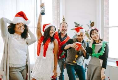 Holiday Christmas party fun activities