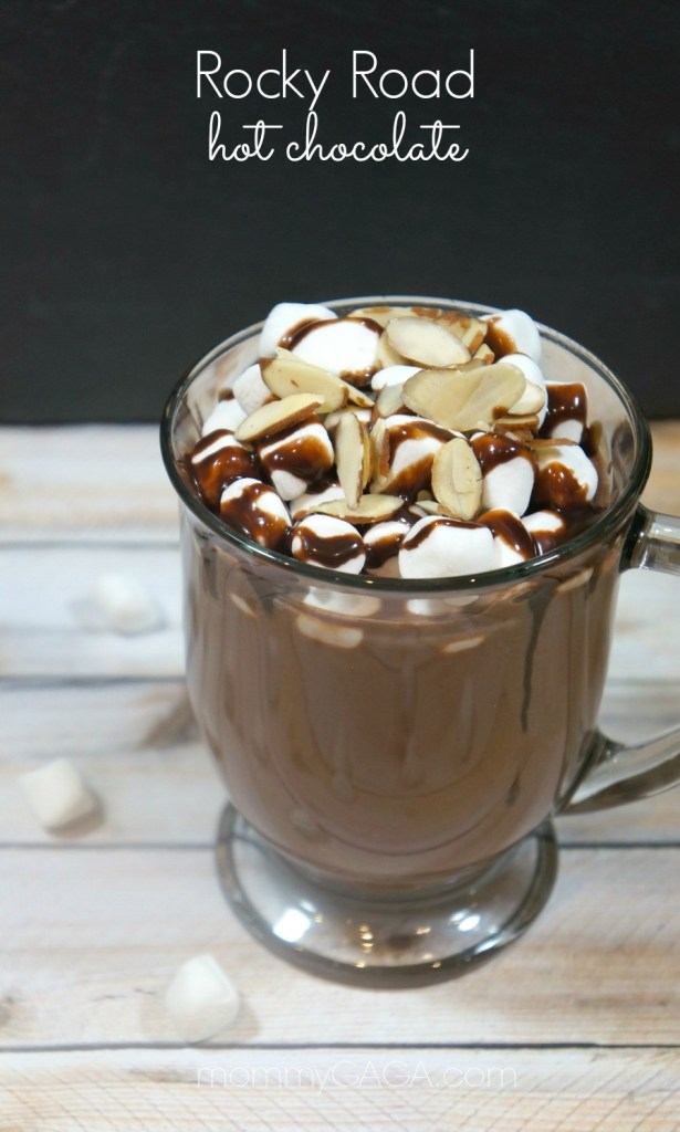 Gourmet Rocky Road Hot Chocolate Recipe