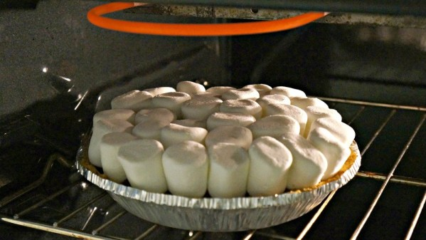Roast marshmallows using the broiler in the oven