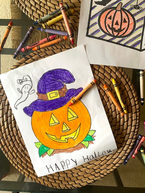Free Printable Halloween Coloring Pages for Kids - these are so much fun