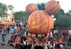 Halloween Time at The Disneyland Resort - Giant Mickey Mouse Pumpkin
