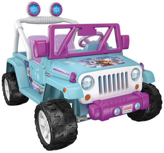 Disney FROZEN Fisher Price Ride On Jeep Wrangler