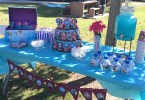 Frozen Birthday Party Ideas, The Dessert Table