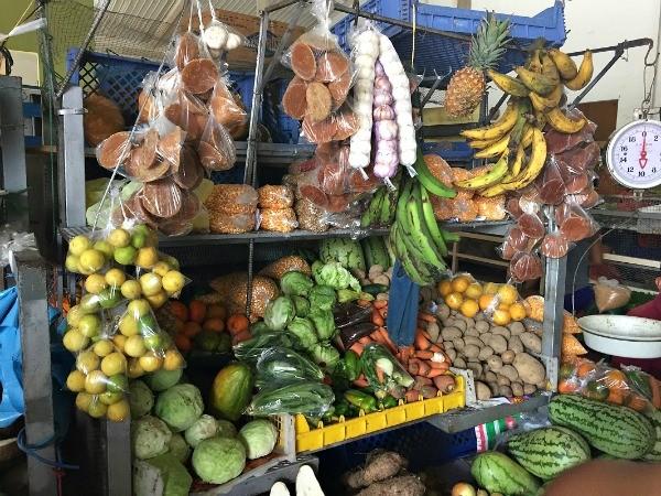 Panama, fresh open air market in Penonome