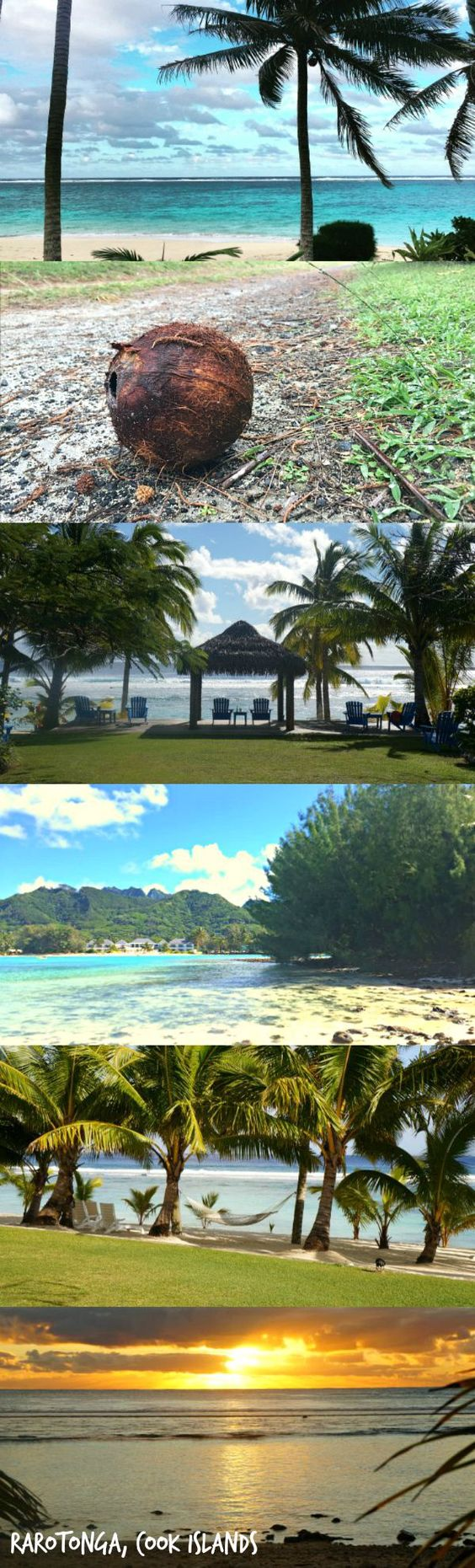 A relaxing vacation in paradise, the gorgeous island of Rarotonga, Cook Islands