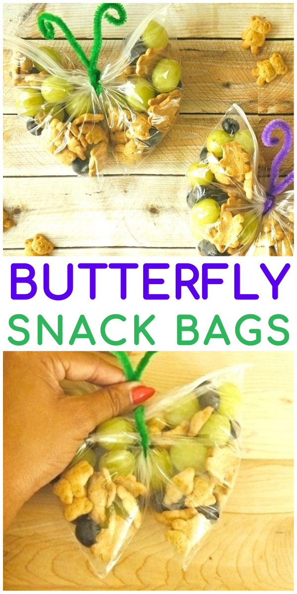 Butterfly Snack Bags - Super Cute Butterfly Themed Snacks Are So Fun!