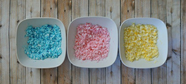 DIY kinetic sand recipe without sand
