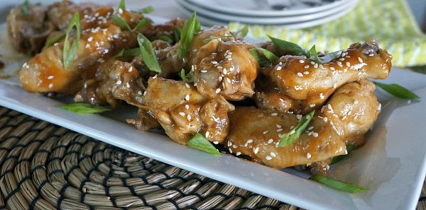 Slow Cooker Thai Spiced Chicken Wings