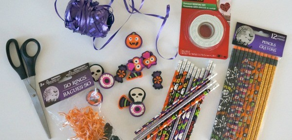 Make your own Halloween pencil favors for kids