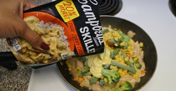 Thai Curry Chicken made with Campbell's® Skillet Sauce