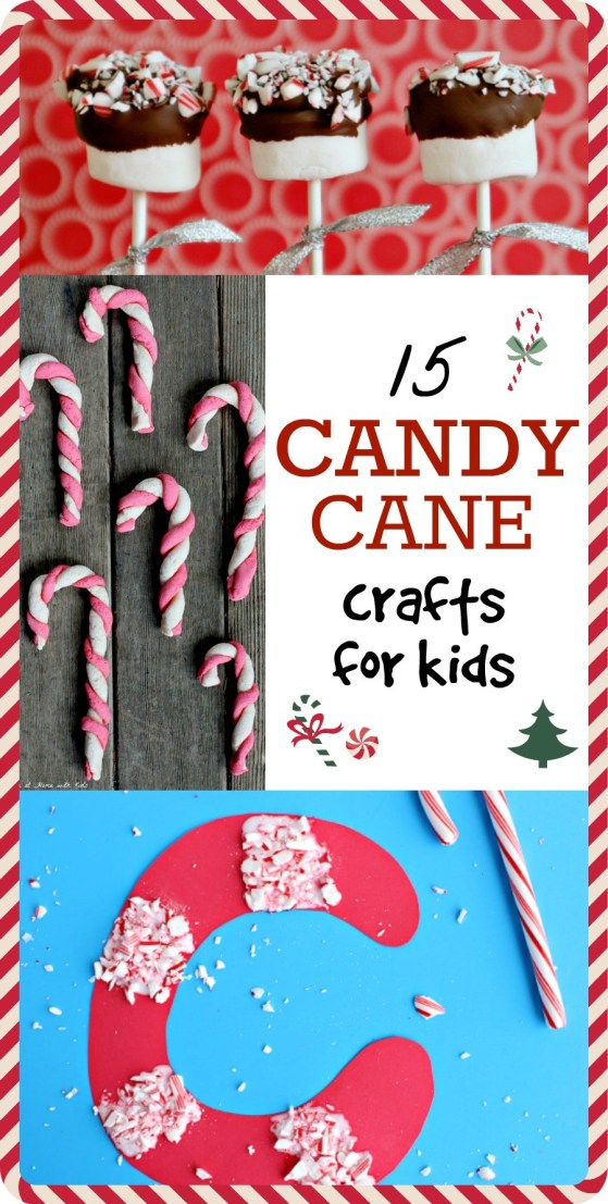15 Cute Candy Cane Craft Project Ideas For Kids