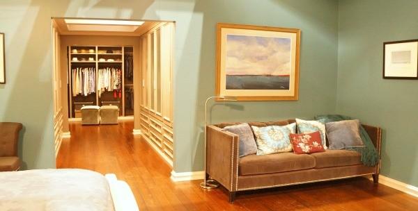 ABC's Blackish Set - Master Bedroom and Dre's closet