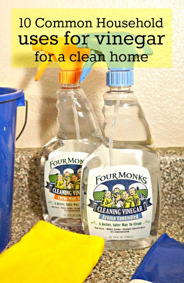 10 common household uses for vinegar for a clean home, using natural cleaners
