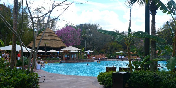 Disney's Animal Kingdom Lodge swimming pool